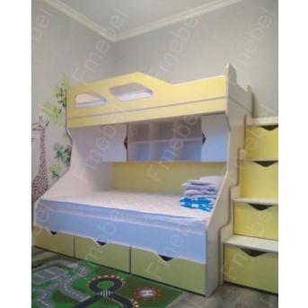Двухъярусная кровать КЧД 120 Fmebel