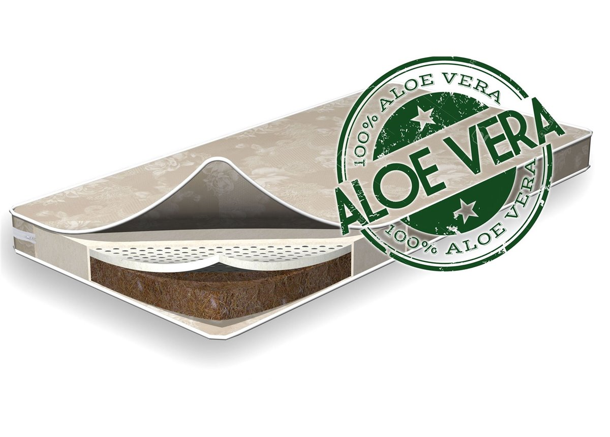 Матрас детский Fmebel Aloe Vera Latex Coconut, 60х120х12