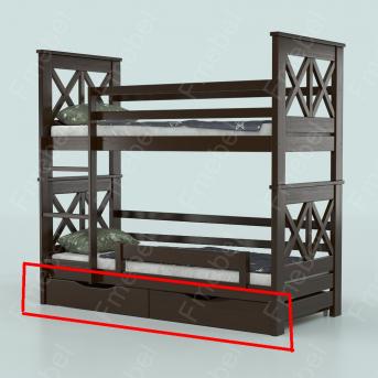 Ящики к двухъярусной кровати Лея Fmebel