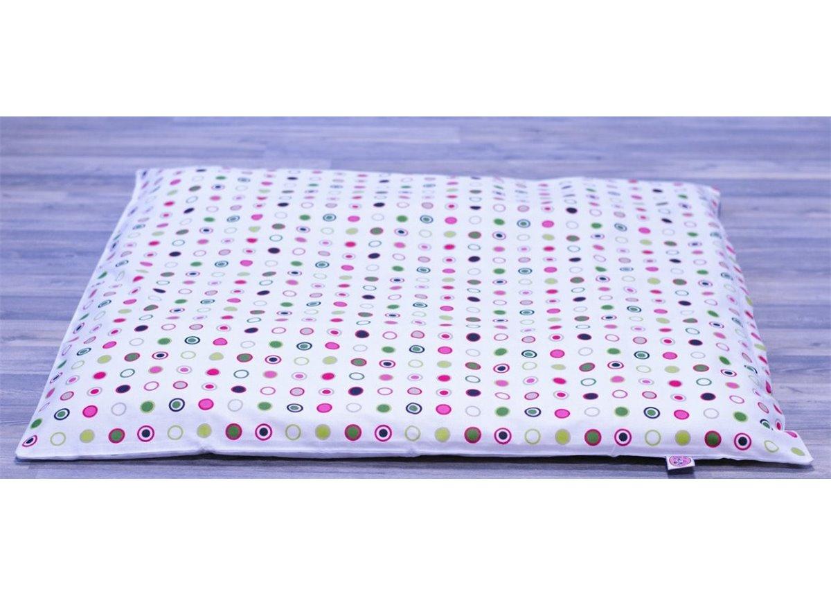 """Толстый коврик для вигвама """"Конфетти"""" 100х100 Fmebel AL"""
