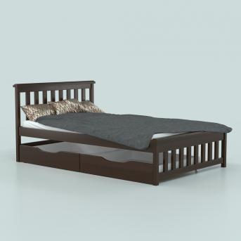 Кровать Асти (массив) Луна 140x190/200