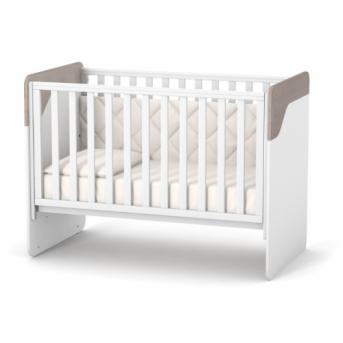 Кроватка Сидней ЛД4 Верес 60x120 капучино-белый