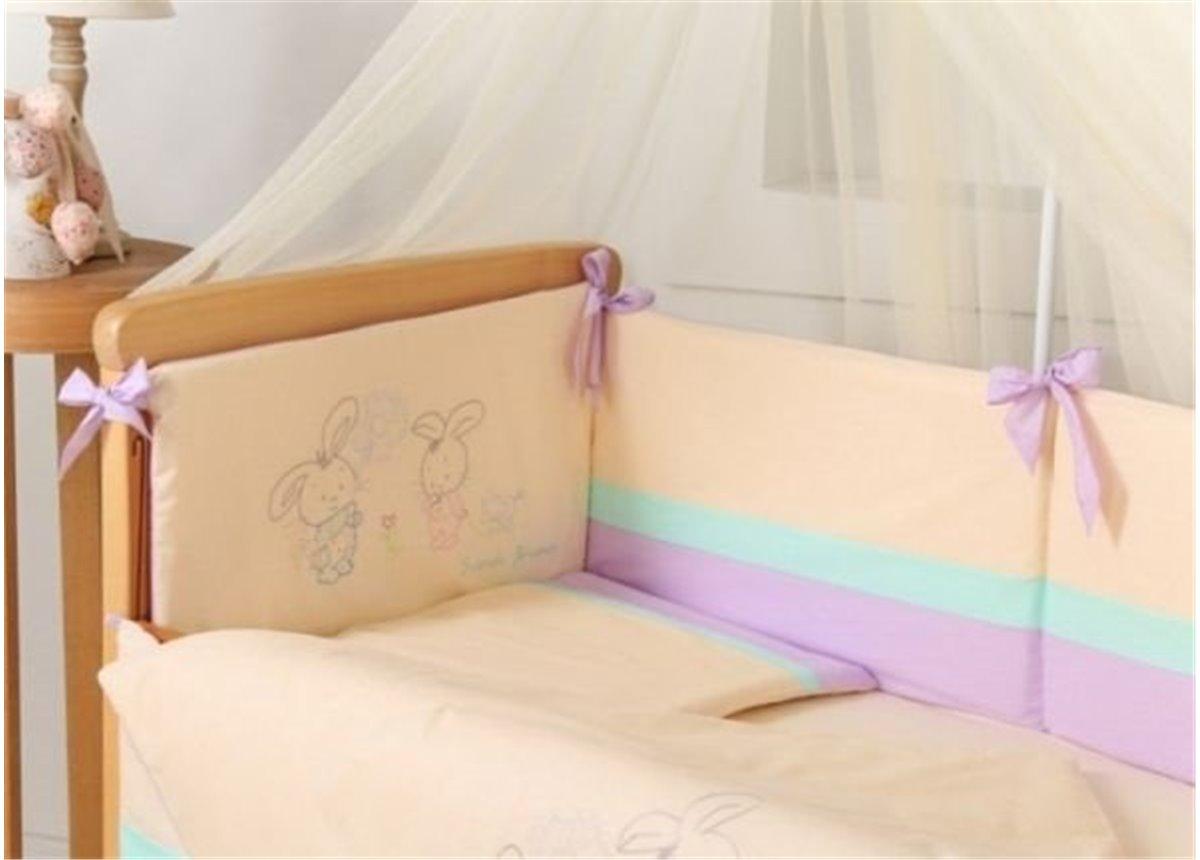 Распродажа Защита на кроватку Фанни Банни Маленькая Соня розовый
