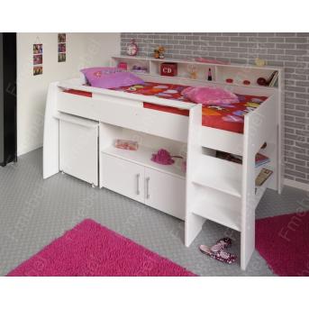 Кровать-чердак со столом ДМ 565 Fmebel 80х190