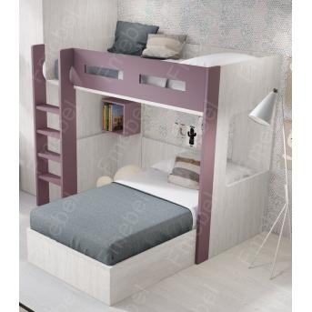 Двухъярусная кровать Оклахома Fmebel 90x200