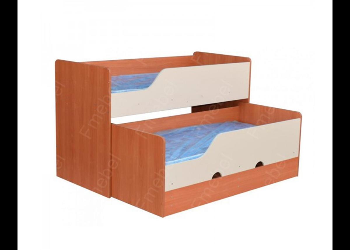 Двухъярусная кровать низкая Винни Fmebel