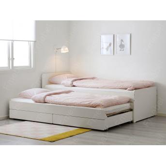 Кровать с дополнительным спальным местом ВКД 12 Fmebel 80x190