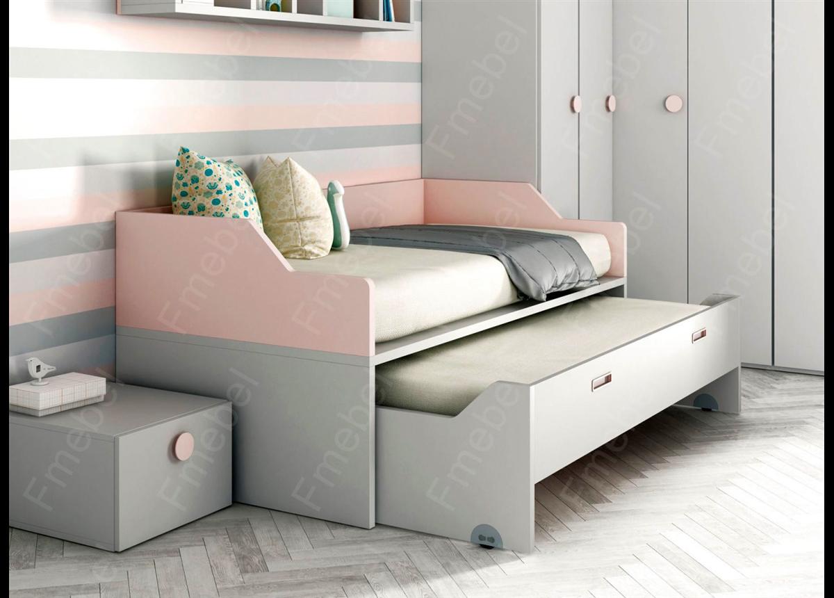 Кровать с дополнительным спальным местом ВКД 24 Fmebel