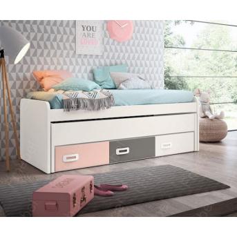 Кровать с дополнительным спальным местом Кливленд Fmebel 90x190