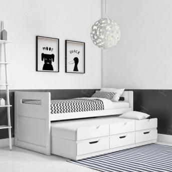 Кровать с дополнительным спальным местом Спрингфилд Fmebel 90x190