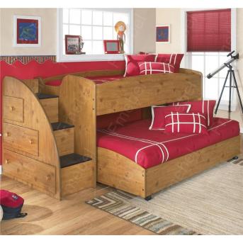 Двухъярусная кровать низкая КДВ 8 Fmebel