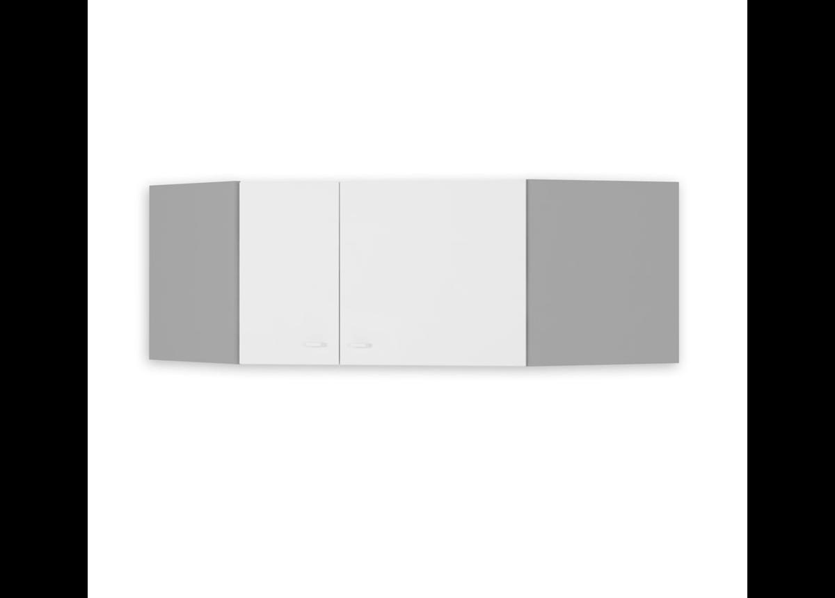 440 Антресоль для углового шкафа Uni Grey