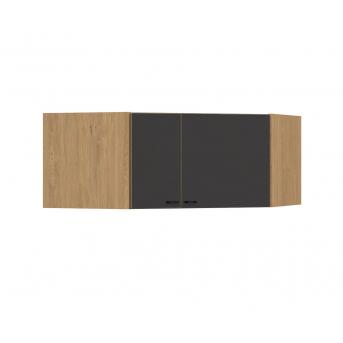 440 Антресоль для углового шкафа Dark Oak Meblik