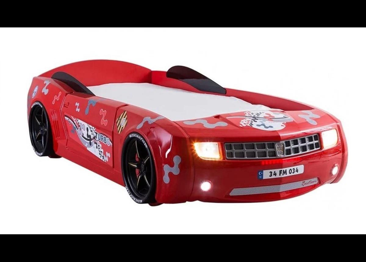 Кровать-машина Chevrolet Camaro Exit Ukraine 90х190 красный