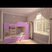 Двухъярусная кровать КЧД 106 Fmebel