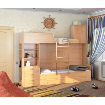 Двухъярусная кровать КЧД 112 Fmebel