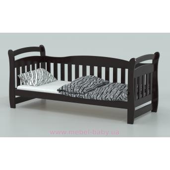 Кровать-диванчик Доминик (масcив) Луна 80x190/200