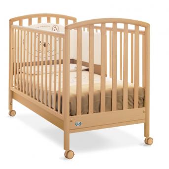 Не качающаяся кроватка для новорожденных Ciak Pali лак 65х125