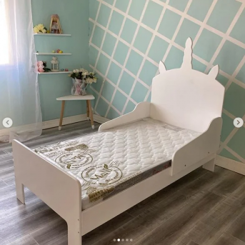 Кровать детская ЕДИНОРОГ (102)