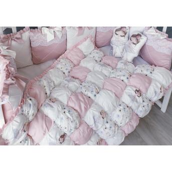 Одеяло зефирное Балеринка BunnyMom