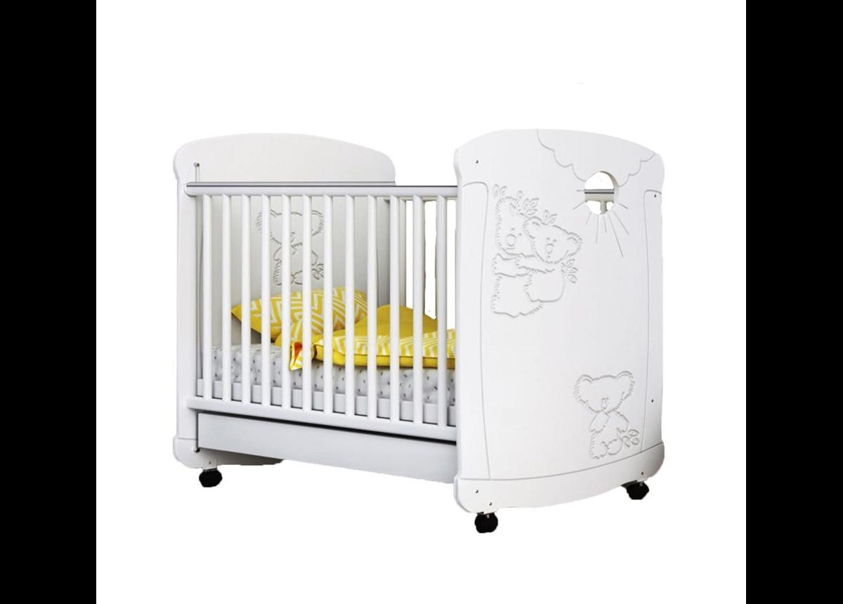 Кроватка Коалы Сиди-М 60x120