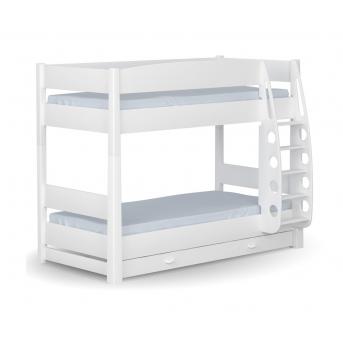 180 Двухъярусная кровать Серия X Dark Meblik 90x190