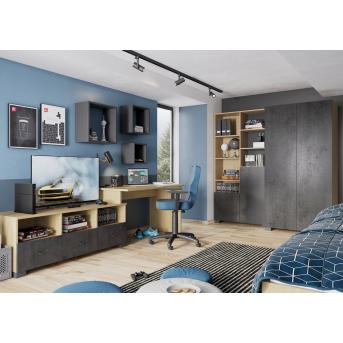 Детская комната Concrete Oak Meblik