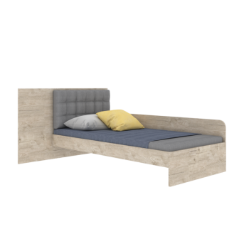 Кровать AN-L-006 Animals Эдисан 90x190
