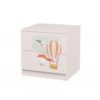 Тумба с ящиками Путешествия MebelKon 50x50x50