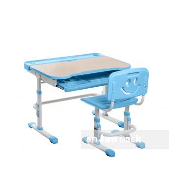 Комплект Fundesk парта + стул трансформер Bellissima blue FunDesk