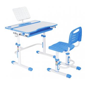 Комплект Fundesk парта + стул трансформер Botero Blue FunDesk