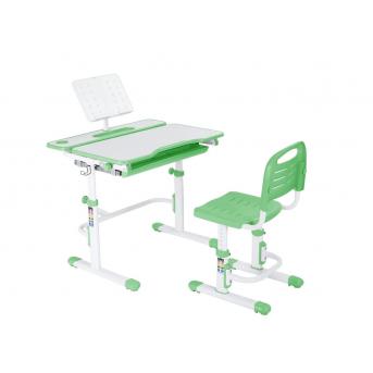 Комплект Fundesk парта + стул трансформер Botero Green FunDesk