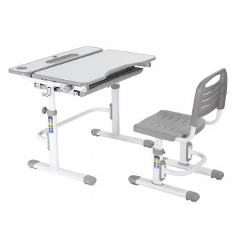 Комплект Fundesk парта + стул трансформер Botero Grey FunDesk