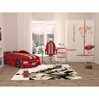 Комната БМВ Красный AUTO MebelKon