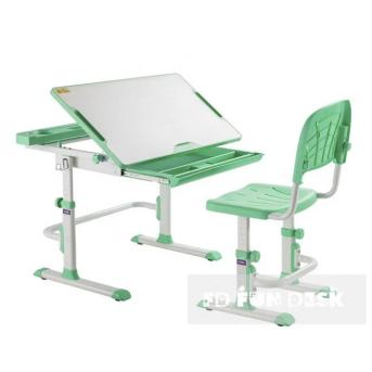 Комплект Fundesk парта + стул трансформер DISA GREEN FunDesk