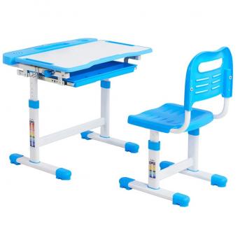 Комплект Cubby парта + стул трансформер Vanda Blue FunDesk