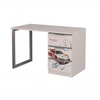 Стол Ауди-1 AUTO MebelKon 75x120x65