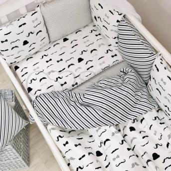 Сменные чехлы для бортиков Baby Design Усы Маленькая Соня