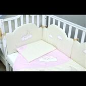 Защита в кроватку Sleepyhead Верес розовый