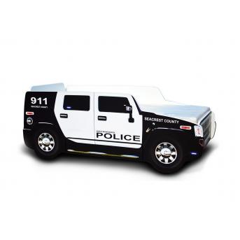 Кровать-машина ДЖИП Полицейский (103) 80x170