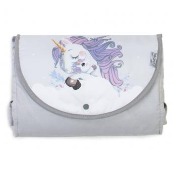 Дорожный пеленальный матрас Unicorn love Veres 50x70