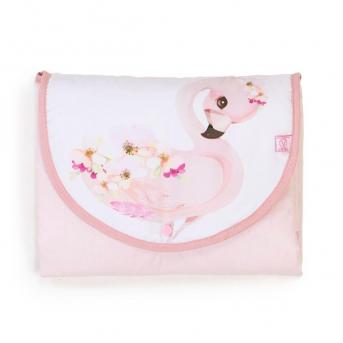 Дорожный пеленальный матрас Flamingo Veres 50x70