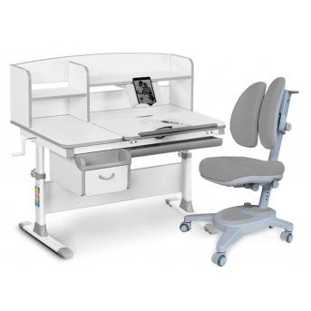 Комплект Evo-50 G Grey (арт. Evo-50 G + кресло Y-115 G) Evo-kids серый