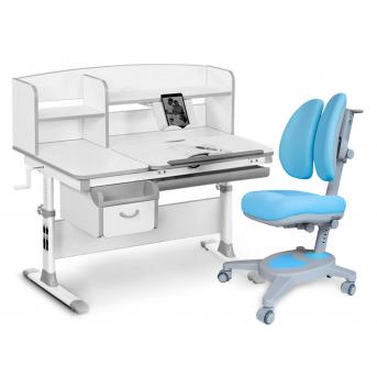 Комплект Evo-50 G Grey (арт. Evo-50 G + кресло Y-115 KBL) Evo-kids серый
