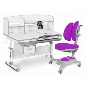 Комплект Evo-50 G Grey (арт. Evo-50 G + кресло Y-115 KS) Evo-kids серый