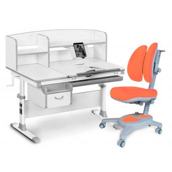 Комплект Evo-50 G Grey (арт. Evo-50 G + кресло Y-115 KY) Evo-kids серый