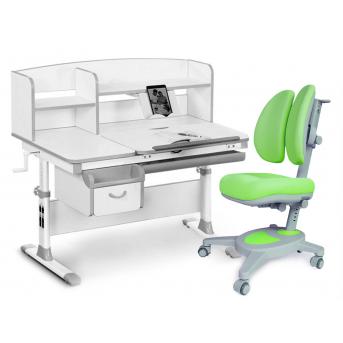 Комплект Evo-50 G Grey (арт. Evo-50 G + кресло Y-115 KZ) Evo-kids серый