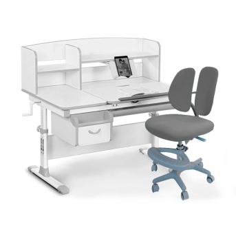 Комплект Evo-50 G Grey (арт. Evo-50 G + кресло Y-408 G) Evo-kids серый