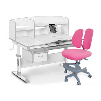 Комплект Evo-50 G Grey (арт. Evo-50 G + кресло Y-408 KP) Evo-kids серый