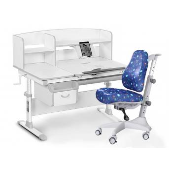 Комплект Evo 50 G Grey (арт. Evo-50 G + кресло Y-528 F) Evo-kids серый
